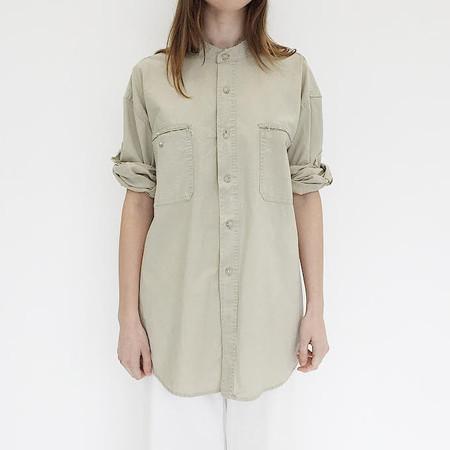 Johan Vintage Deconstructed Khaki Shirt
