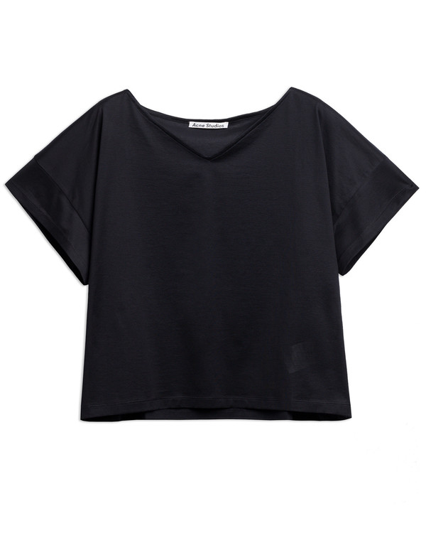 Derek Lam 10 Crosby Susanna T-shirt Black