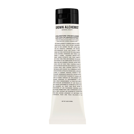 Grown Alchemist Hydra-Restore Cream Cleanser: Olive Leaf and Plantago Extract 100mL