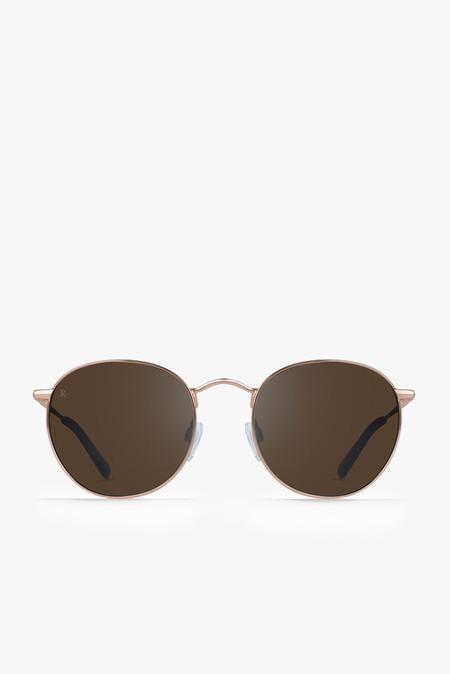 Raen Optics Benson Sunglasses in Rose Gold