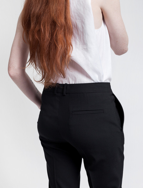 Saville Cropped Trouser
