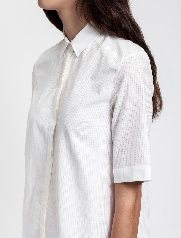 Thakoon Addition Ruffle Hem Shirtdress