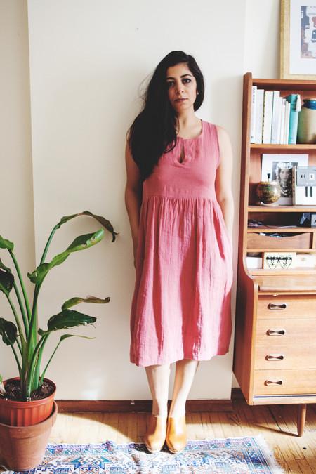 Amanda Moss Mayfair Dress - Brique