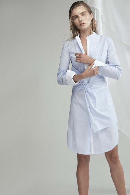 Acler Rowe Stripe Shirt Dress