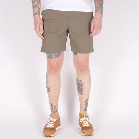 Corridor Shorts - Sanded Olive Twill