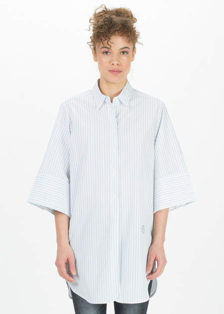 Ter et Bantine Oversize Sleeve Long Button-Up Shirt