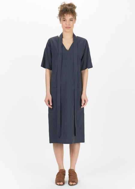 SCHAI Pinstripe Kandan Dress