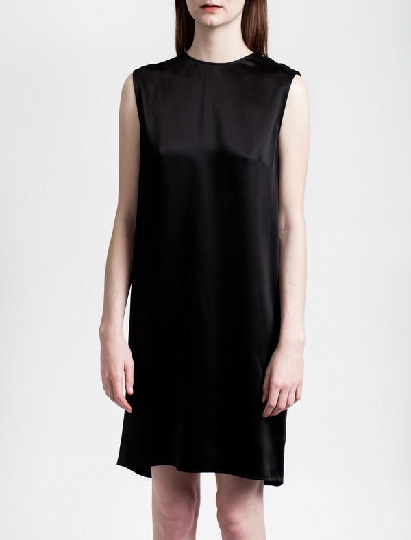 Acne Studios Belvidere Satin Dress