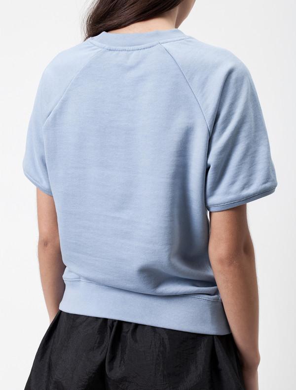 Sunspel Short Sleeve Raglan Top