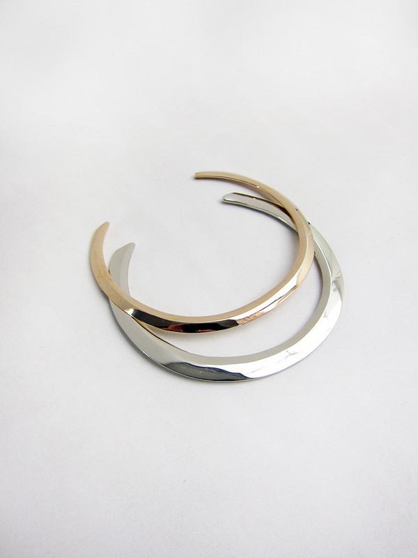 Samma Collar   White Brass