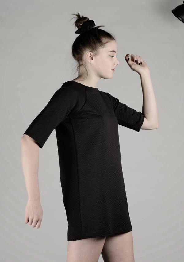 Brit Wacher quilted mini dress