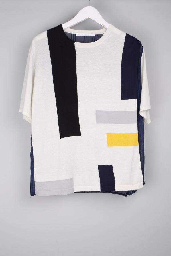 Thakoon Addition Geometric T-Shirt
