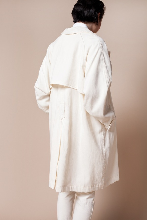 Objects without Meaning Mantra Trench- ivory
