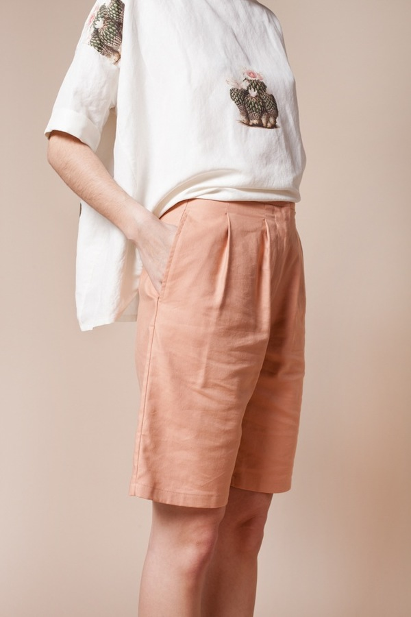 Jesse Kamm Trail Shorts - brick