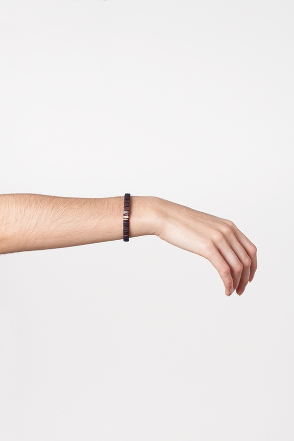 WWAKE x Assembly New York Small Wrapped Cuff-navy