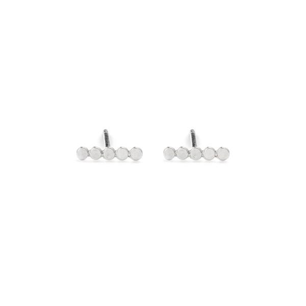 Free Series Dot Bar Earrings