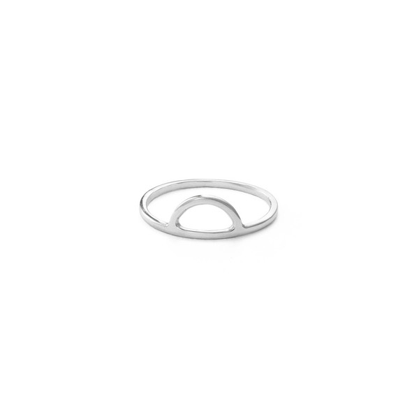Free Series Half Moon Ring