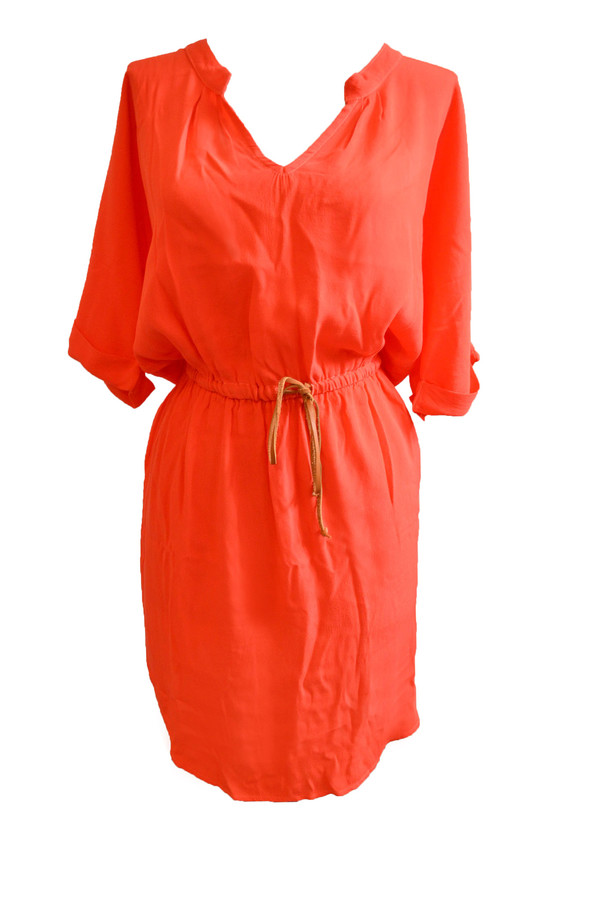 Kain Laurel Dress | Coral
