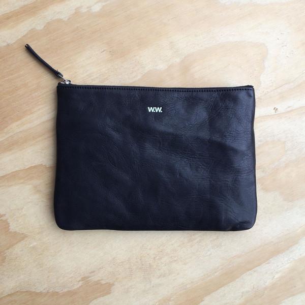Wood Wood XL zip wallet