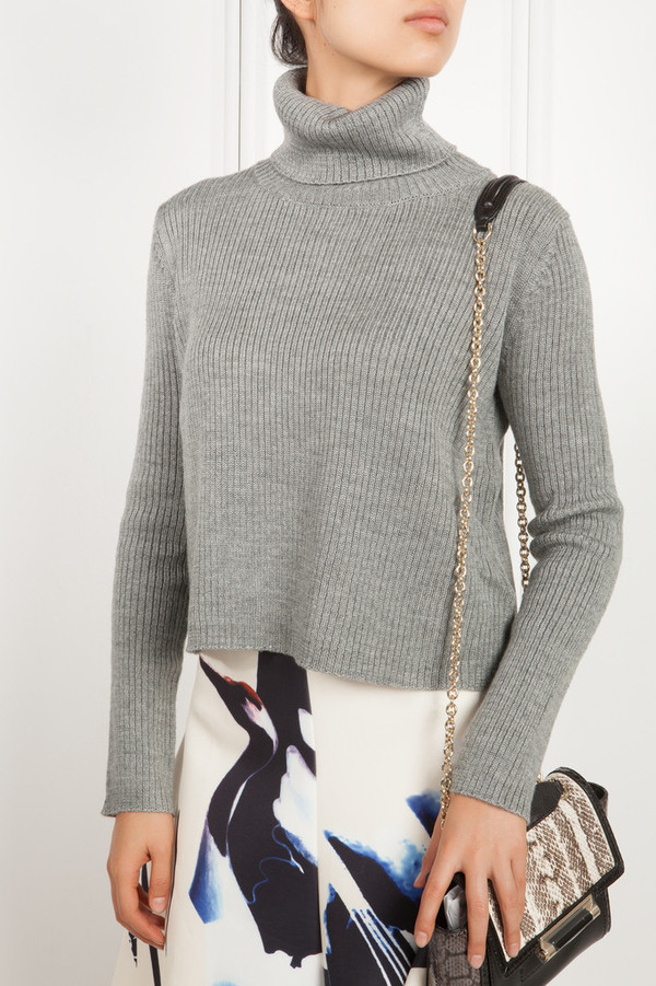 Few Moda Audrey Grey Rollneck