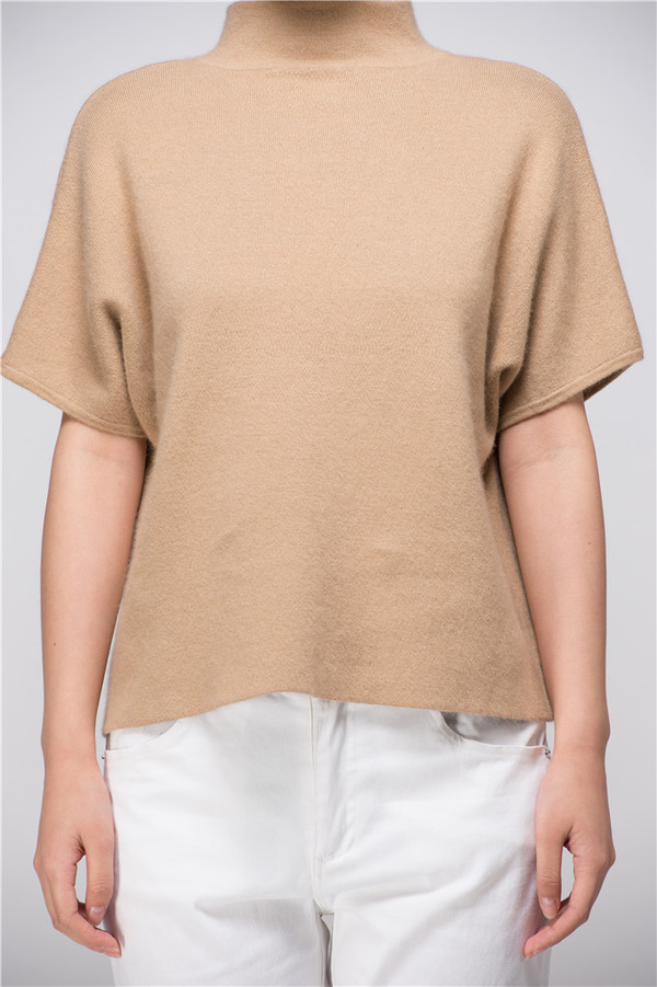 Few Moda Elise Minimal Chic Cashmere Sweater.