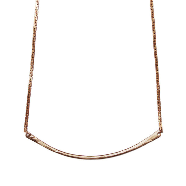 Tiffany Kunz Bronze Silver Necklace