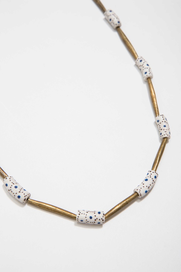 Osei-Duro Akoben Beads Necklace