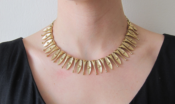 Gold Sarah Coventry Choker