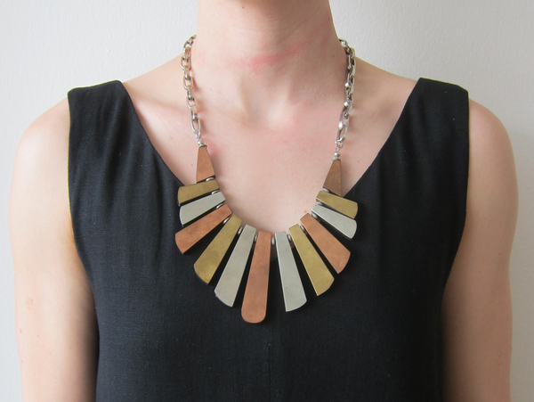 Reversible Statement Necklace