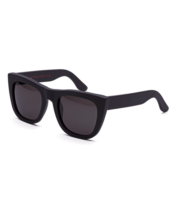 RetroSuperFuture Gals Sunglasses in Matte Black