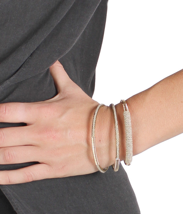 Bloom Cable Wrap Bangle