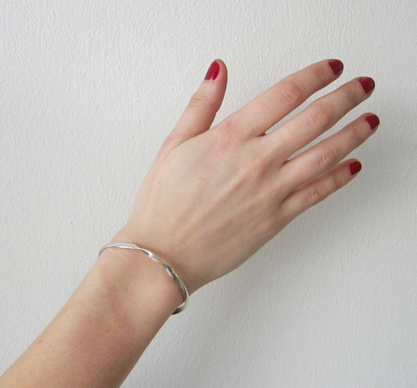 Vintage Sterling Twist Bracelet