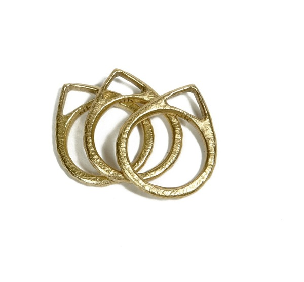 Nettie Kent Compass Stack Rings