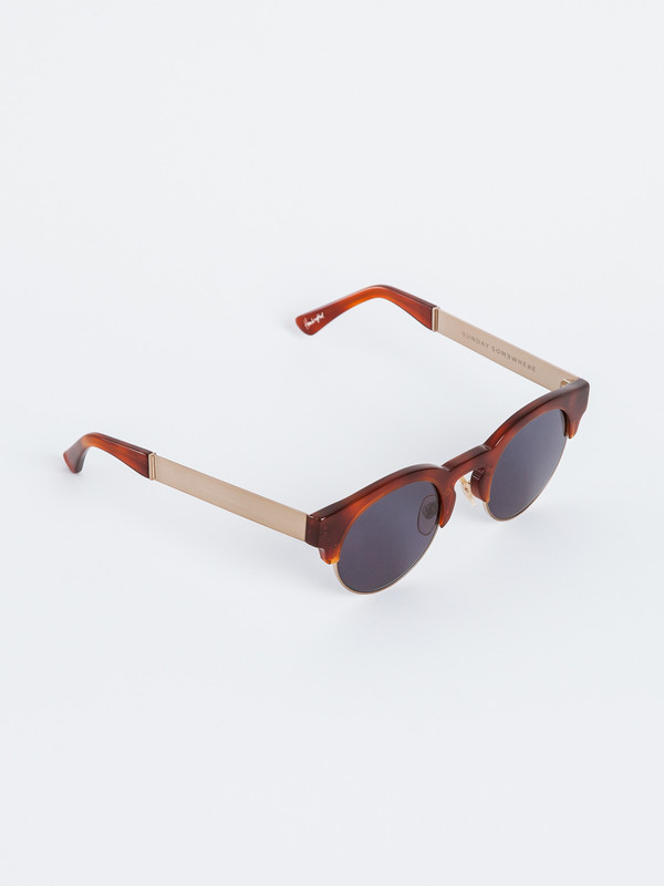 Sunday Somewhere  SOELAE METAL SUNGLASSES