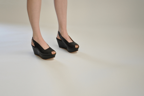 "The Palatines ""levo"" wedge sandal 