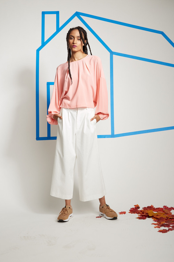 Apiece Apart Taiyana Wide Leg Pant