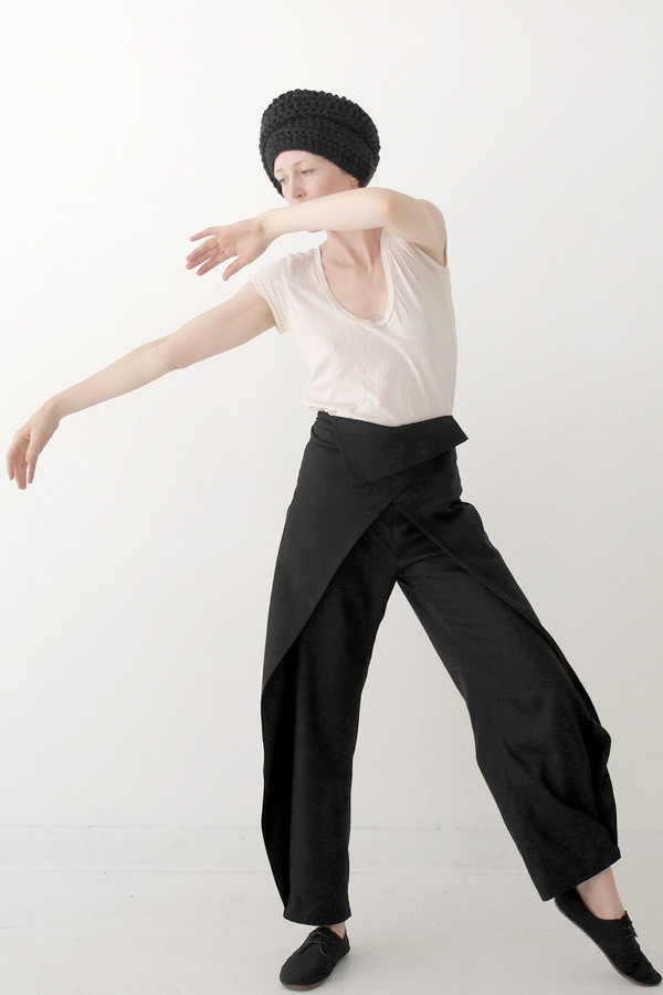 Mônom Raw Silk Wrap Pant