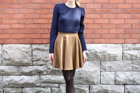 Betina Lou Laura Skirt | Camel