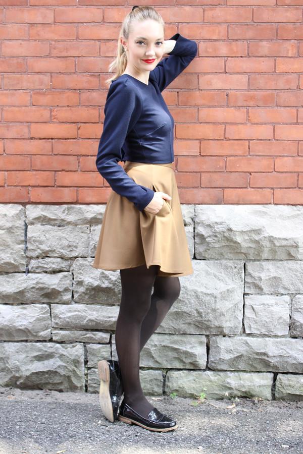 Betina Lou Laura Skirt - Camel