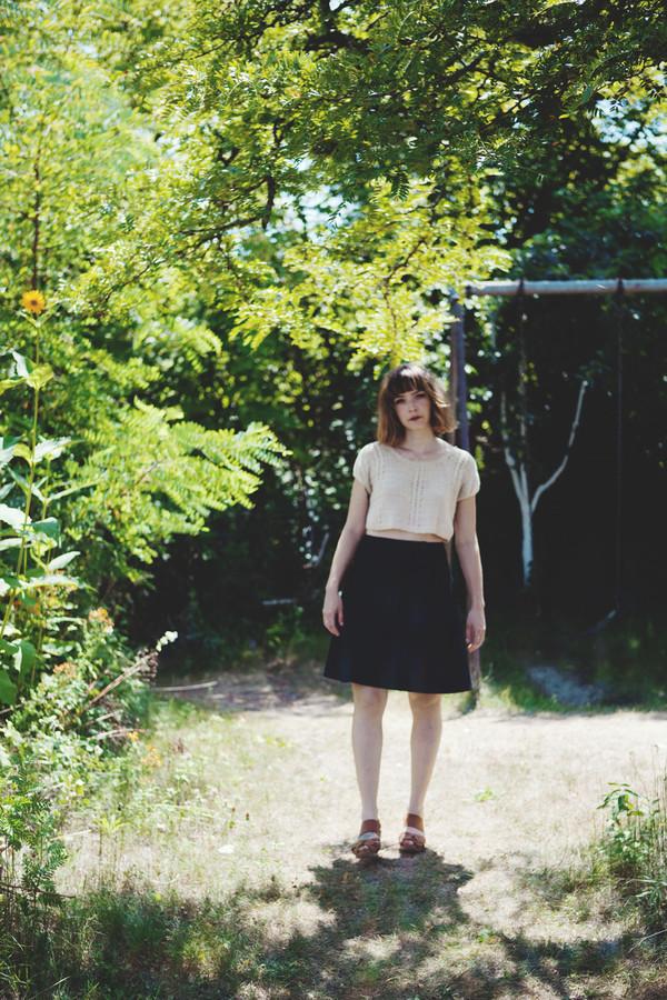 Betina Lou Magda Skirt | Navy