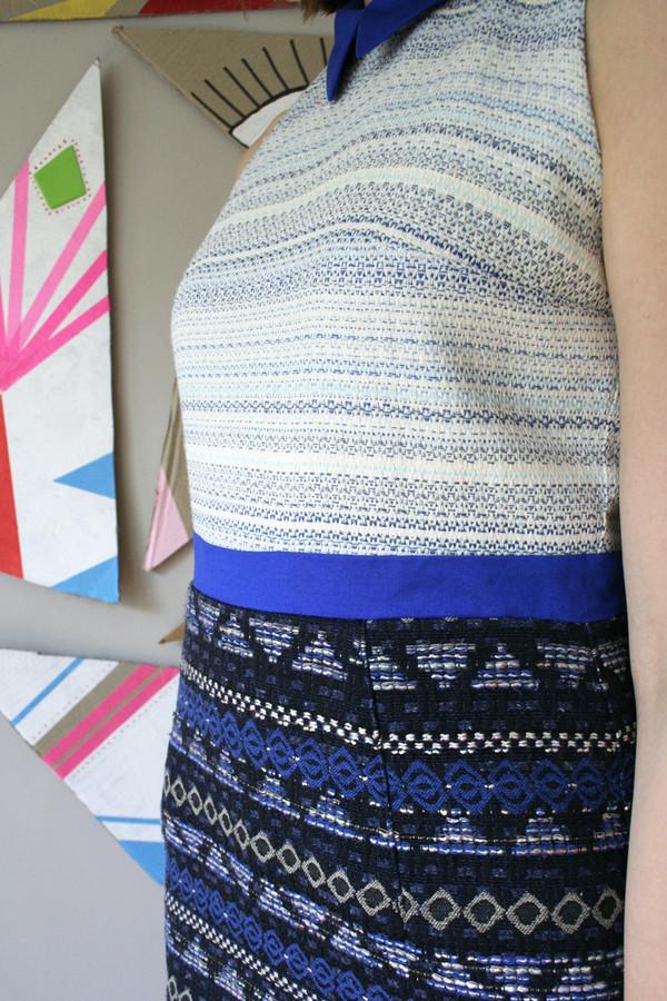 Eve Gravel Arular Dress