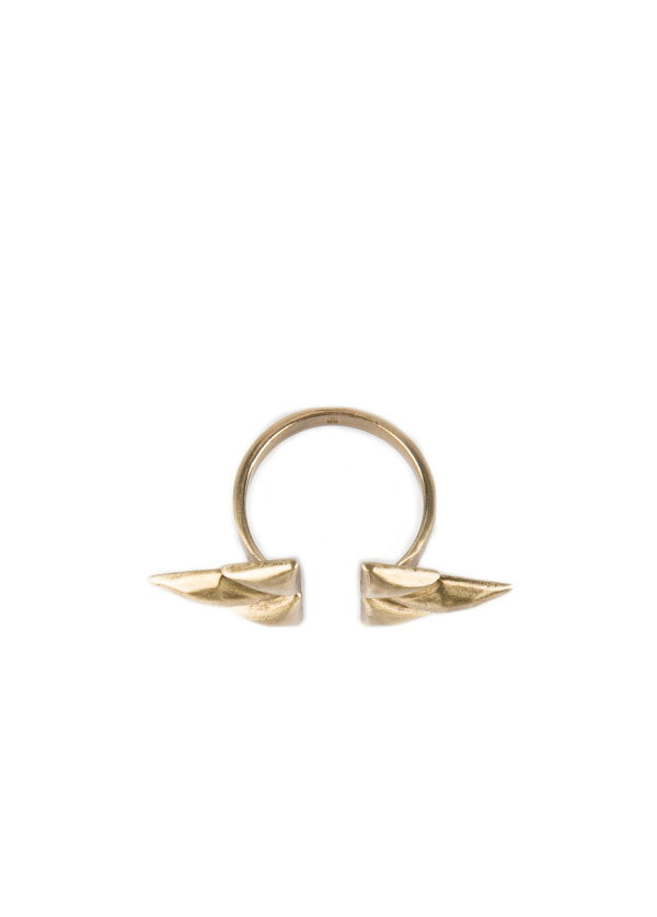Bing Bang NYC Double Trident Ring