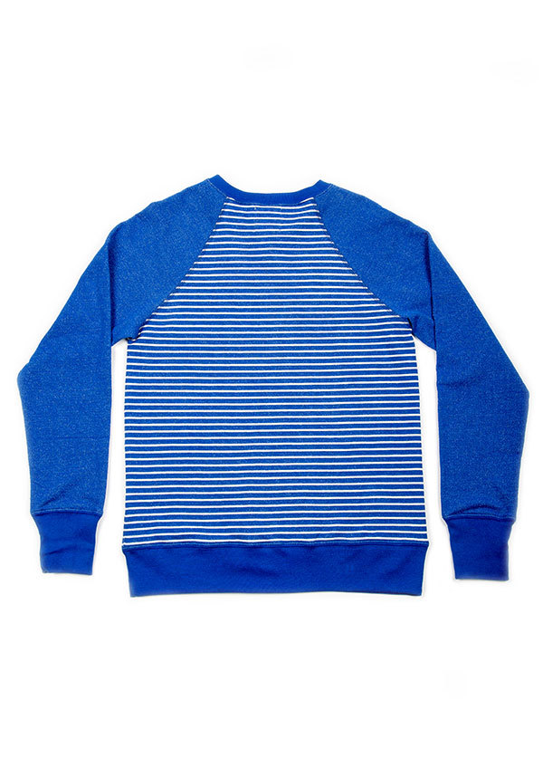 Bridge and Burn  Crew Neck Sweater in Stripe