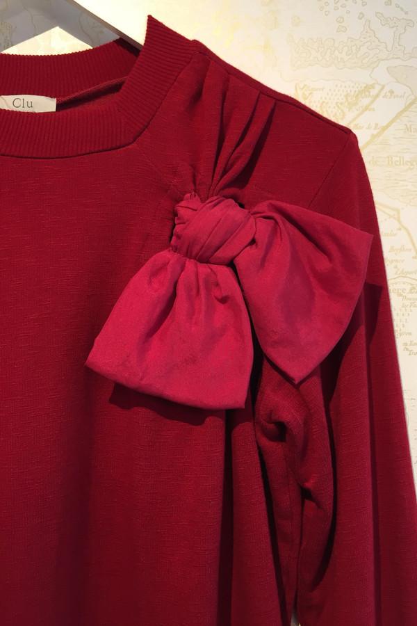 Clu Bow sweatshirt