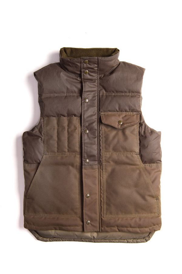 Filson Down Cruiser Vest | Otter Green