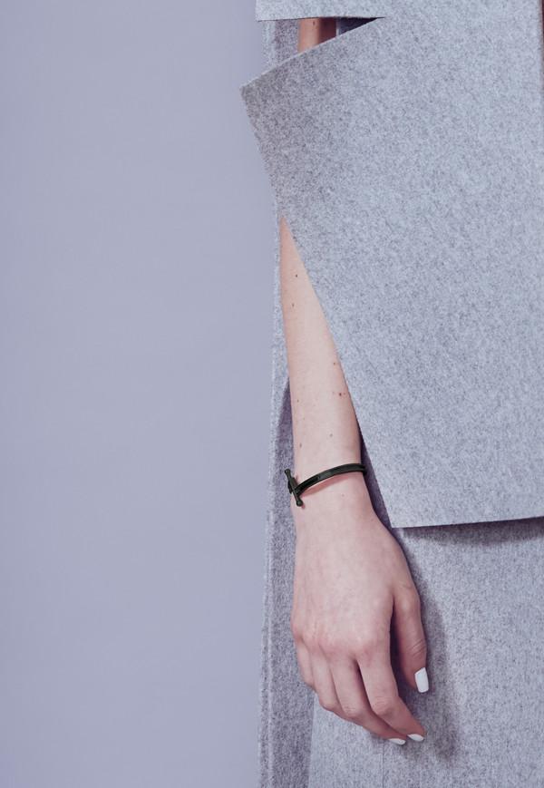 Metalepsis Projects Pin Cuff | matte black