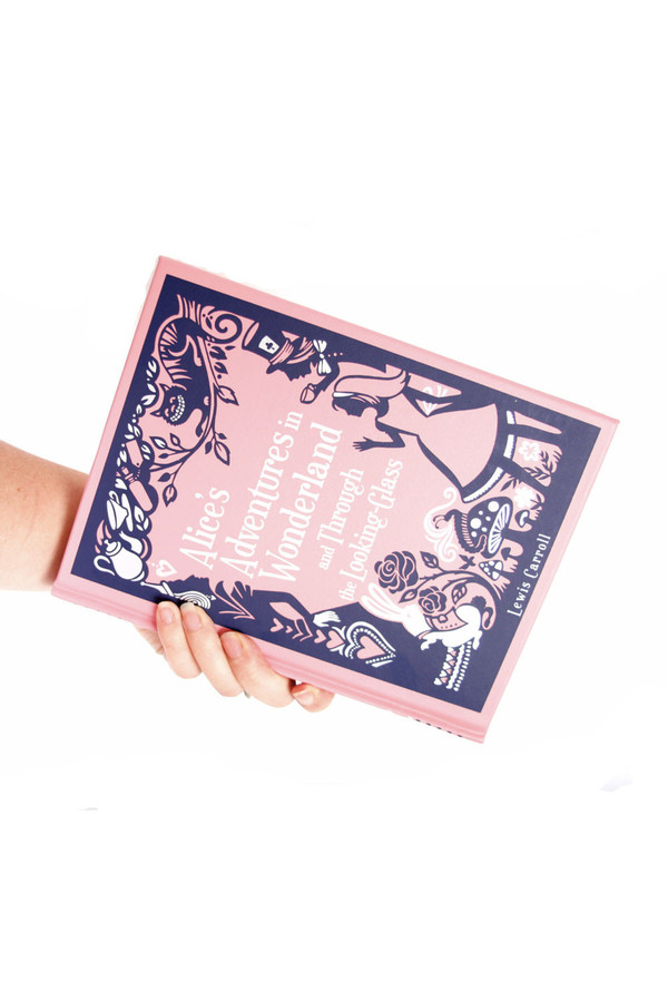 Chick Lit Designs Alice In Wonderland Book Clutch