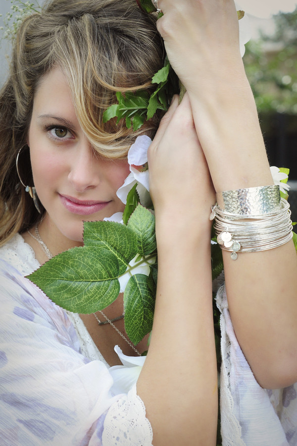 Ash Hoffman Jewelry Emily Silver Bangles