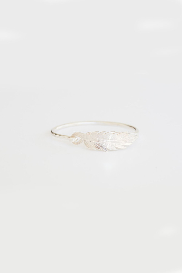 Ash Hoffman Jewelry Hope Feather Bangle