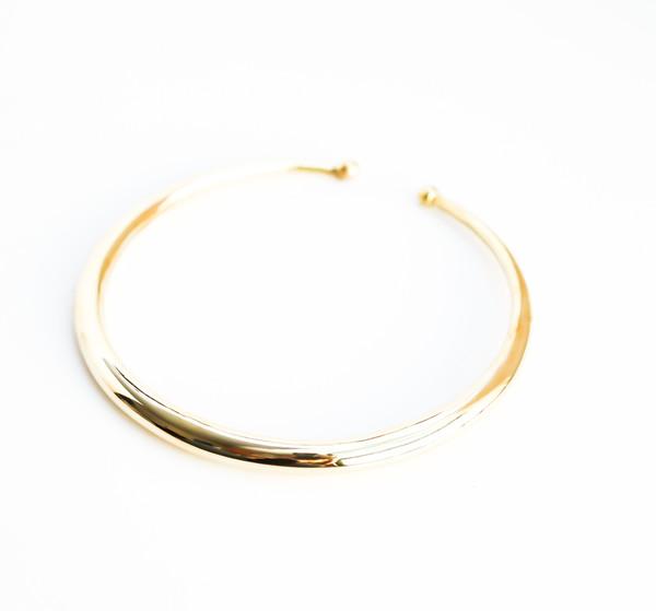 BISJOUX Thin Collar Necklace